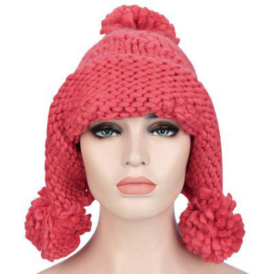 Venonat Ear Care Design Girls Warm Knitted Hat