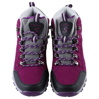 Outdoor Block Color Lace Up Ladies Hiking Sports ShoesWomens Sneakers<br>Outdoor Block Color Lace Up Ladies Hiking Sports Shoes<br><br>Available Size: 35, 36, 37, 38, 39, 40<br>Closure Type: Lace-Up<br>Embellishment: None<br>Gender: For Women<br>Occasion: Casual<br>Outsole Material: Rubber<br>Package Contents: 1 x Pair of Women Hiking Sports Shoes<br>Pattern Type: Others<br>Season: Winter, Spring/Fall<br>Shoe Width: Medium(B/M)<br>Toe Shape: Round Toe<br>Toe Style: Closed Toe<br>Upper Material: Suede<br>Weight: 0.7730kg