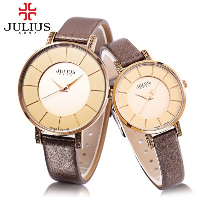 JULIUS JA - 766 Couple Quartz Watch