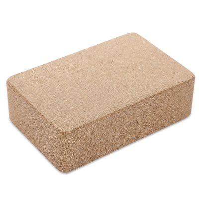Home Exercise Fitness Health EVA Yoga Cork Block Brick Foam