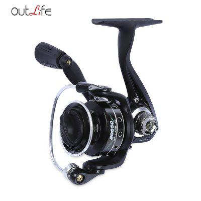 Outlife 5 + 1 Ball Bearing Metal Spool Fishing Reel
