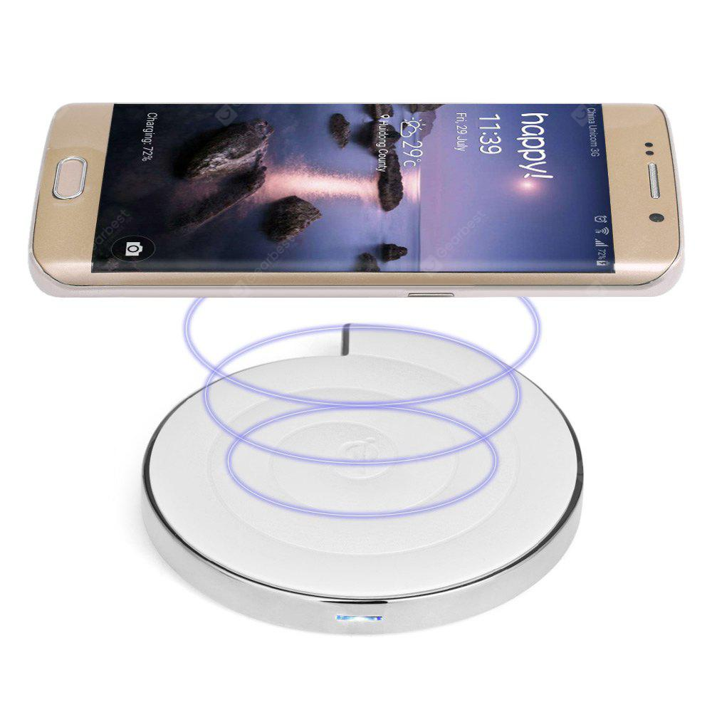 NS - 01 Qi Wireless Charger Pad Forma do caracol