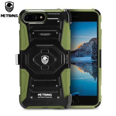 Metrans Three-piece Case Cover for iPhone 7 Plus