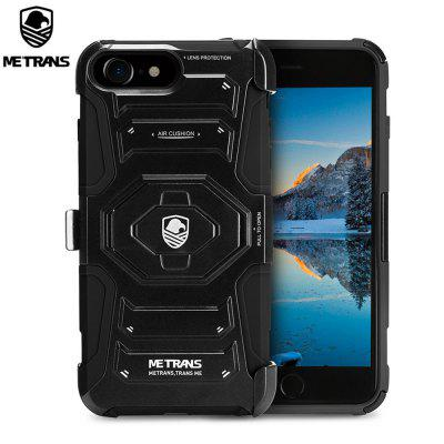 Metrans Three-piece Case Anti-knocking Anti-falling Cover for iPhone 7