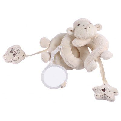 Infant Lovely Sheep Bed Bells Rattle Toy