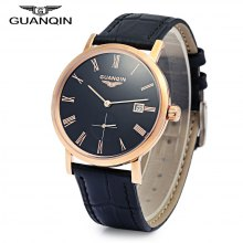 GUANQIN GJ16028 Men Auto Mechanical Watch