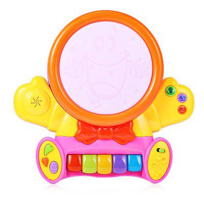 HangLei Kids Musical Smile Face Play Piano with Light