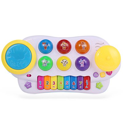 HangLei Kids Preschool Musical Play Piano with Light