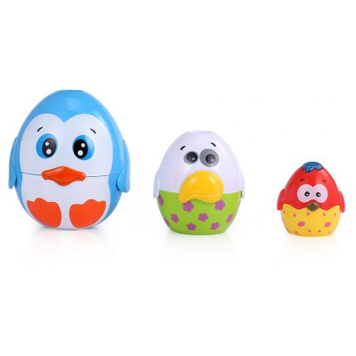 HangLei Kids Musical Egg Stacking Cup with Light
