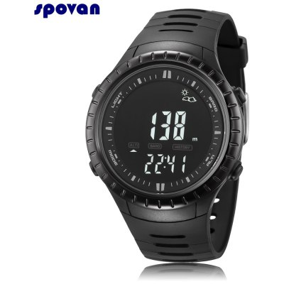 Spovan SPV710 Digital Fishing Barometer Watch