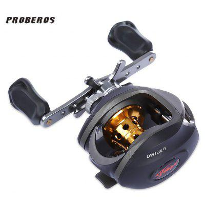 Proberos DR - 509 6.3:1 9 + 1 Ball Bearings Fishing Low-profile Reel