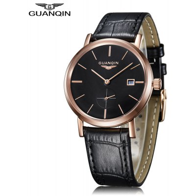 GUANQIN GJ16028 Male Auto Mechanical Watch