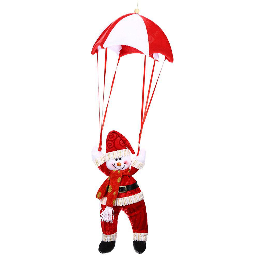 Christmas Parachute Hanging Decoration