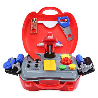 19pcs Baby Kids Mini Simulation Repair Tools Box