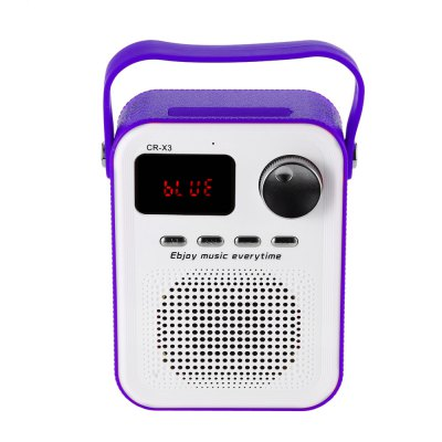 CR - X3 FM Radio Wireless Bluetooth Speaker