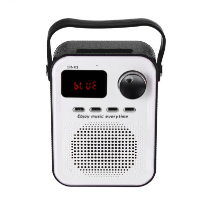 CR - X3 FM Radio Wireless Bluetooth Portable Loudspeaker