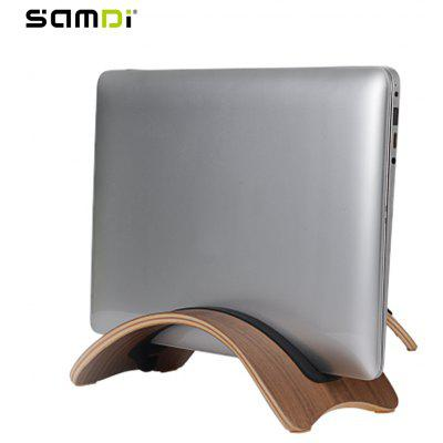 SAMDI Wood Laptop Stand Holder Support for Mac Air