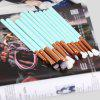 12pcs Cosmetic Makeup Tool Powder Foundation Eye Brush - BLUE AND GOLDEN