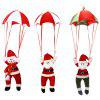 Christmas Parachute Hanging Decoration - RED