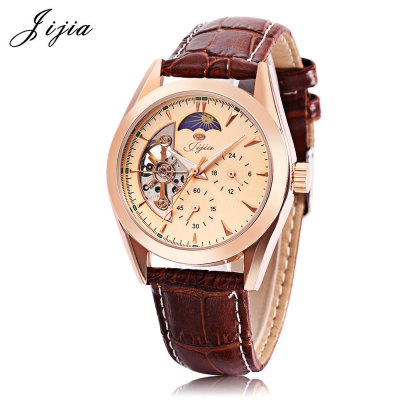 Jijia XG8015 Men Auto Mechanical Watch