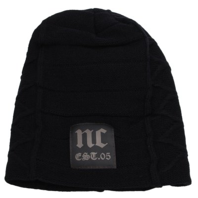 Winter Warm Pure Color Male Knitted Hat