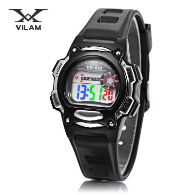 VILAM 0640 LED Digital Sports Watch