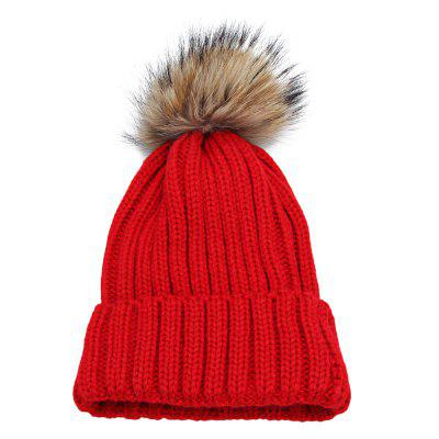 Venonat Design Solid Color Ladies Knitted Hat