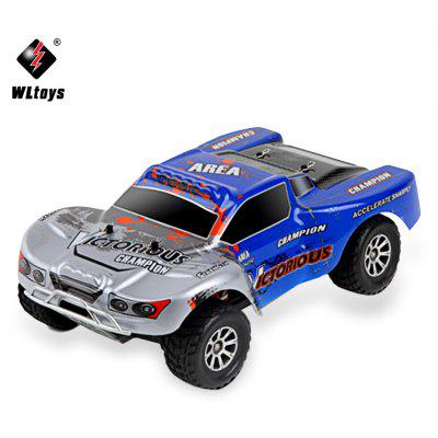 WLtoys A969 - B 1:18 Scale 2.4G 4WD RC Short Truck