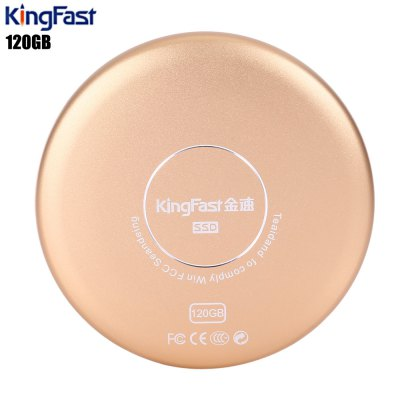 KingFast P600 Mini USB 3.0 Metal Solid State Drive