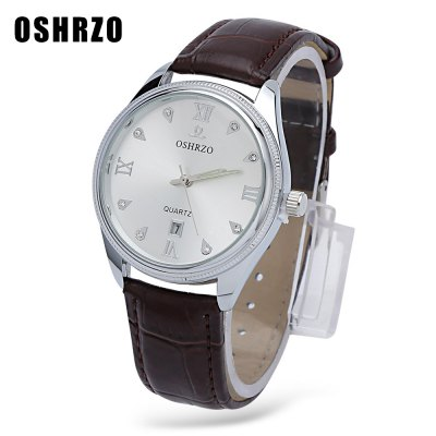 OSHRZO Male Quartz Watch