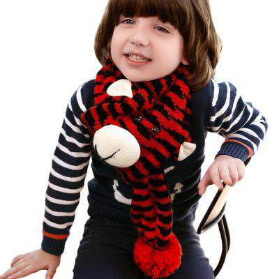 QULEXING Knitted Tiger Scarf