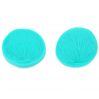 2pcs DIY Silicone Peony Flower Moule