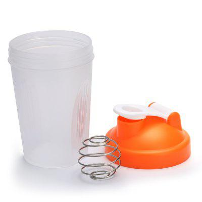 400ML Protein Shaker Mixer Cup Drink BottleWater Cup &amp; Bottle<br>400ML Protein Shaker Mixer Cup Drink Bottle<br><br>Package Contents: 1 x Shaker Drink Bottle, 1 x Stainless Steel Wire Ball<br>Package Size(L x W x H): 9.00 x 7.00 x 17.50 cm / 3.54 x 2.76 x 6.89 inches<br>Package weight: 0.122 kg<br>Product Size(L x W x H): 8.00 x 6.00 x 16.50 cm / 3.15 x 2.36 x 6.5 inches<br>Product weight: 0.100 kg