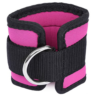 Gym Fitness Force de force des jambes D-ring Anchor Ankle Strap