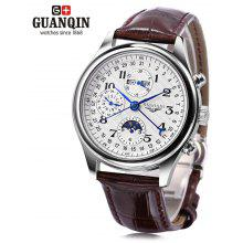 GUANQIN GQ20022 Male Auto Mechanical Watch
