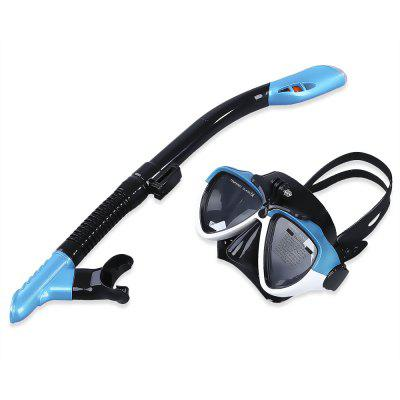 Swimming Diving Anti-fog Mask Goggles Snorkeling Set