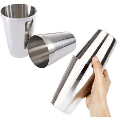 2pcs Stainless Steel Bartender Cocktail Shaker
