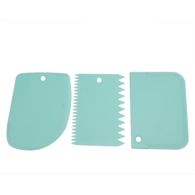 3 in 1 DIY Cake Fondant Smoother Scraper Baking Tools