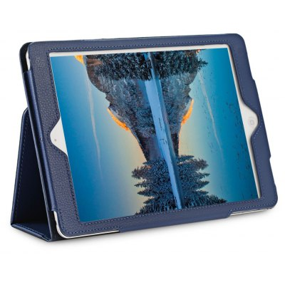 Lychee Pattern Leather Case for iPad Air / Air 2