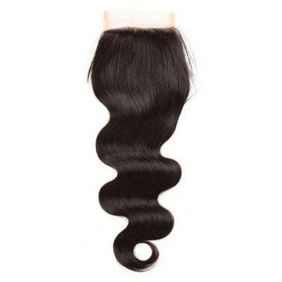 Brazilian 4 x 4 Body Wave Freestyle Lace Closure