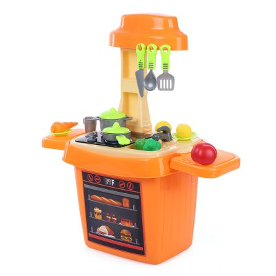27pcs Multi-function Simulated Kitchen Bucket Toy