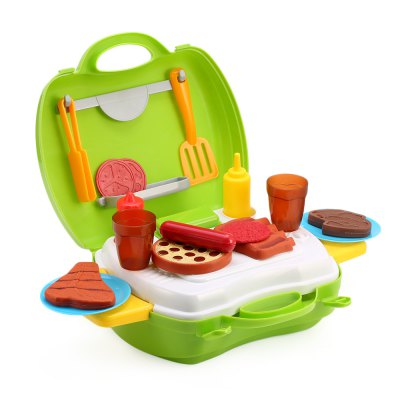 23pcs Kids Kitchen Barbecue Tools Box