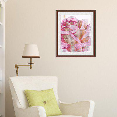30 x 30cm 5D Drip Rose Painting Cross Stitch Tool