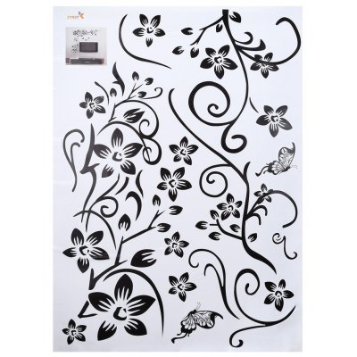 Flower Removable Wall Art Sticker