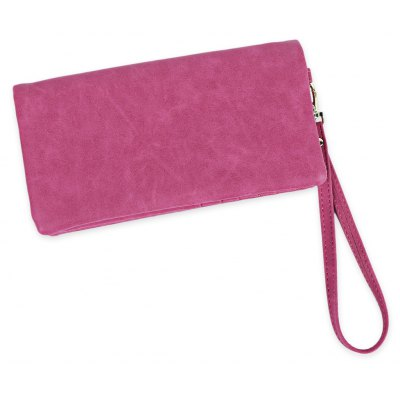 Buy ROSE MADDER Long Paragraph Old Classical Zipper Matte Solid Color Women Purse for $10.48 in GearBest store