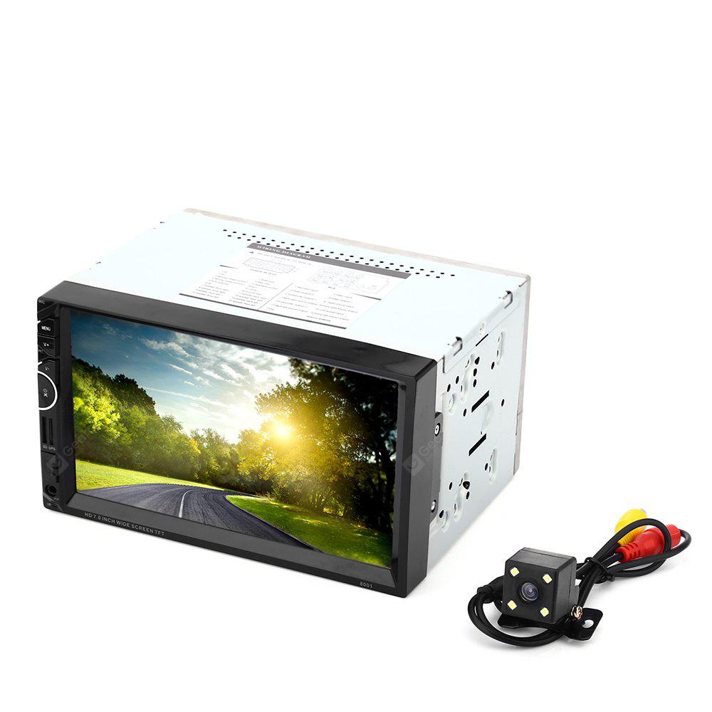 8001 7 pollici MP5 Player Doppio Din 12V Car Multimedia