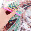 30 x 55cm Peacock Pattern Painting Cross Stitch Tool for sale