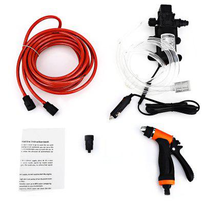 BOJIN 80W 12V High Pressure Cleaning Pump Car Washer