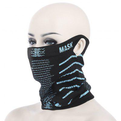 Ski Cycling Sports Warm Half Face Mask with Ear Hole