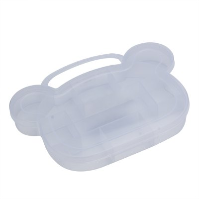 Bear Shape Transparent Storage Box